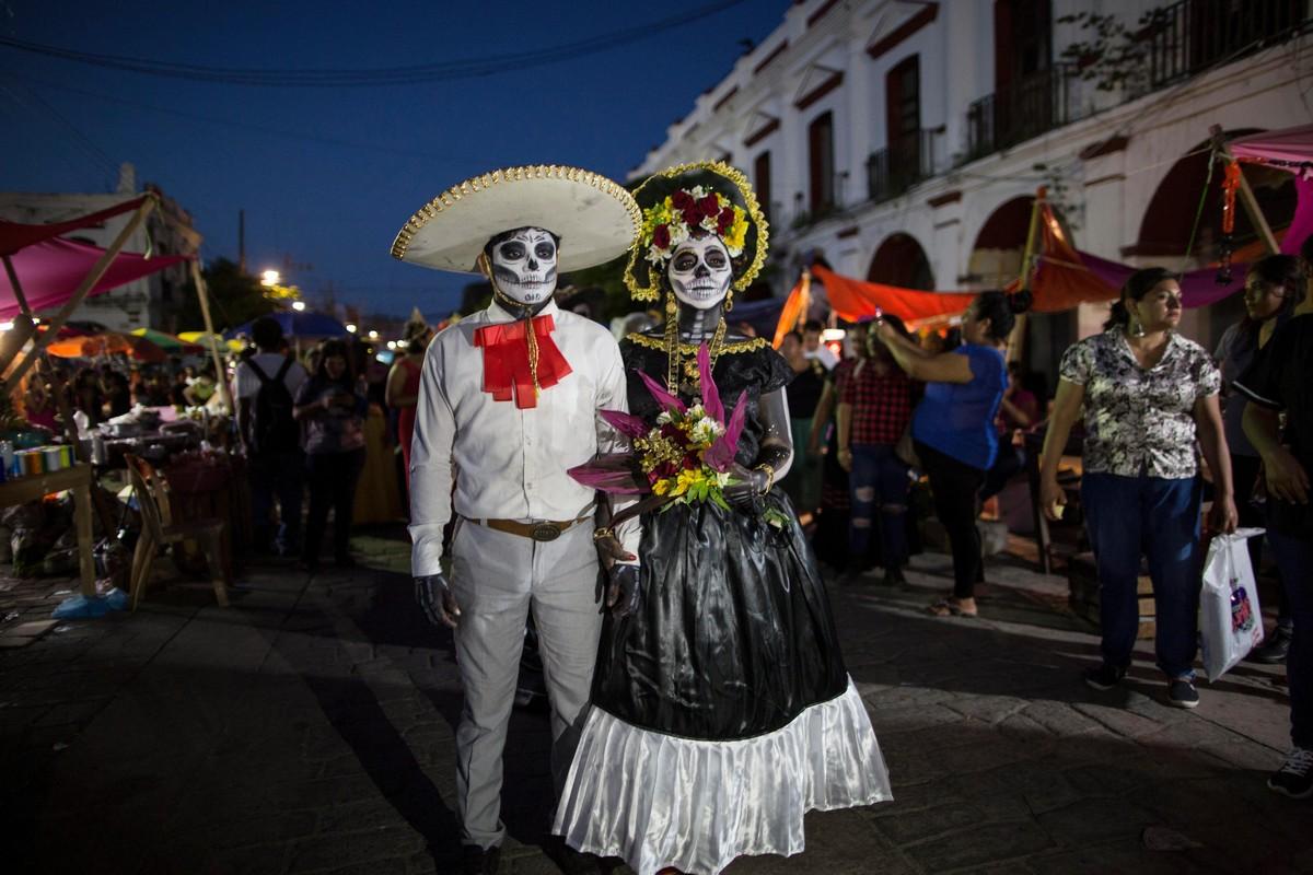 Фестиваль «День Мертвых» в Мексике