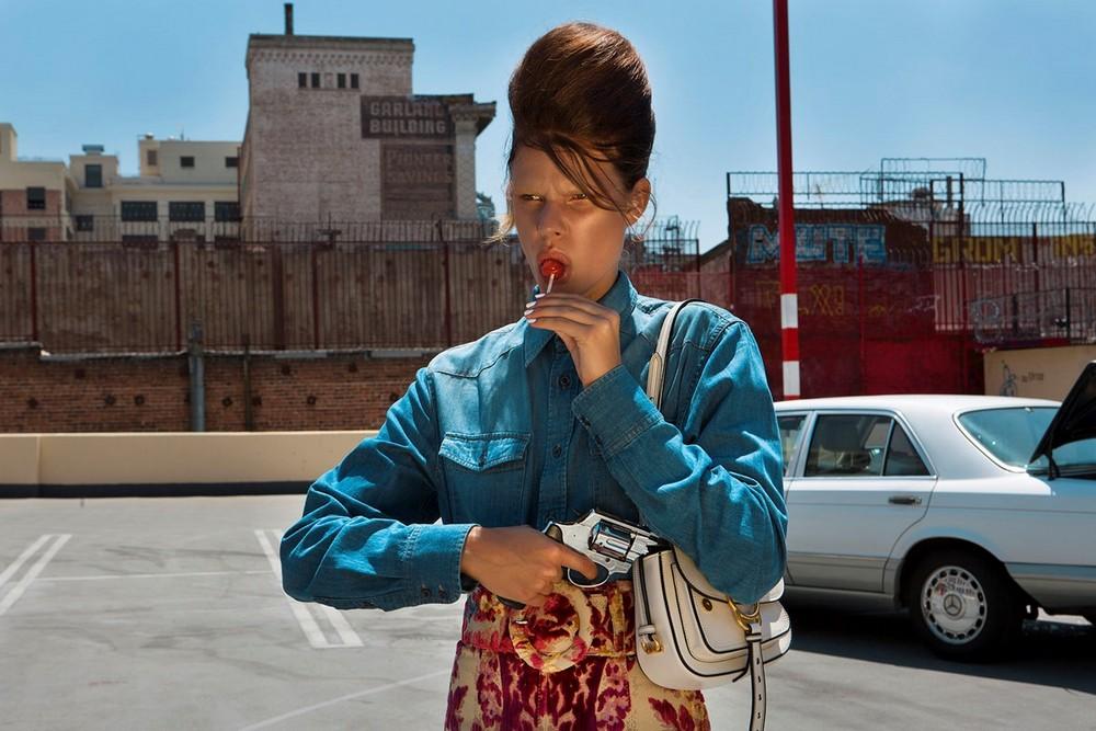 Кинематографические снимки женщин от Нади Ли Коэн