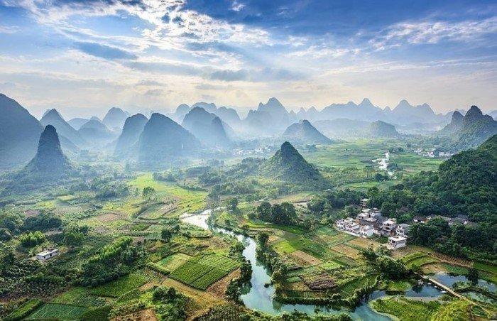 Китай — страна контрастов на снимках