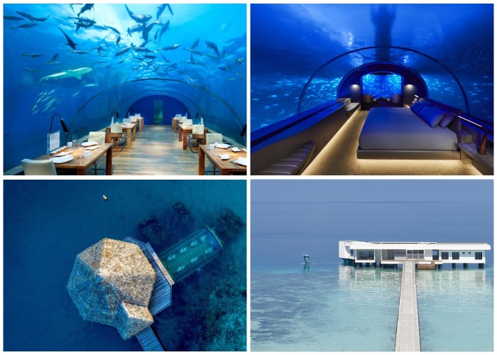 На Мальдивах открылся невероятный подводный отель