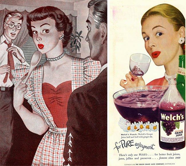 Уууу лицо — модный западный тренд 1950-х годов