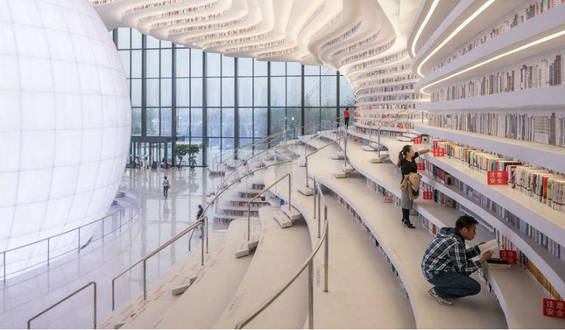 В Китае открыли удивительную библиотеку