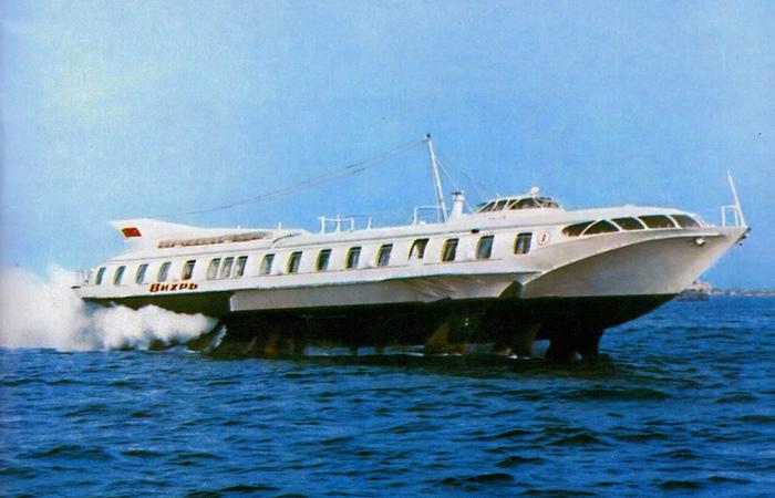 Вихрь — корабль на подводных крыльях из СССР