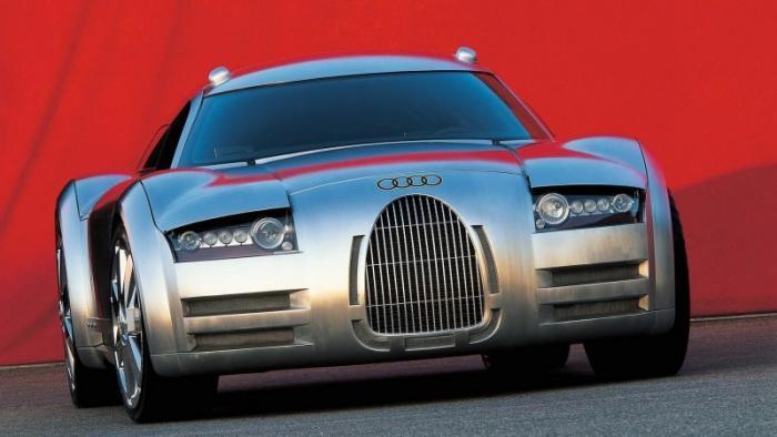 Audi Rosemeyer — концептуальный суперкар 2000 года