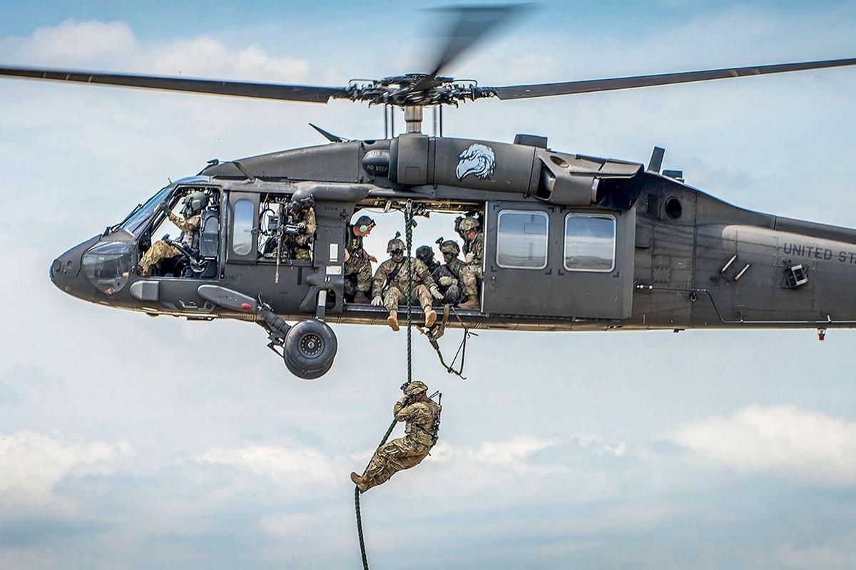 Бравые американские солдаты в 2018 году