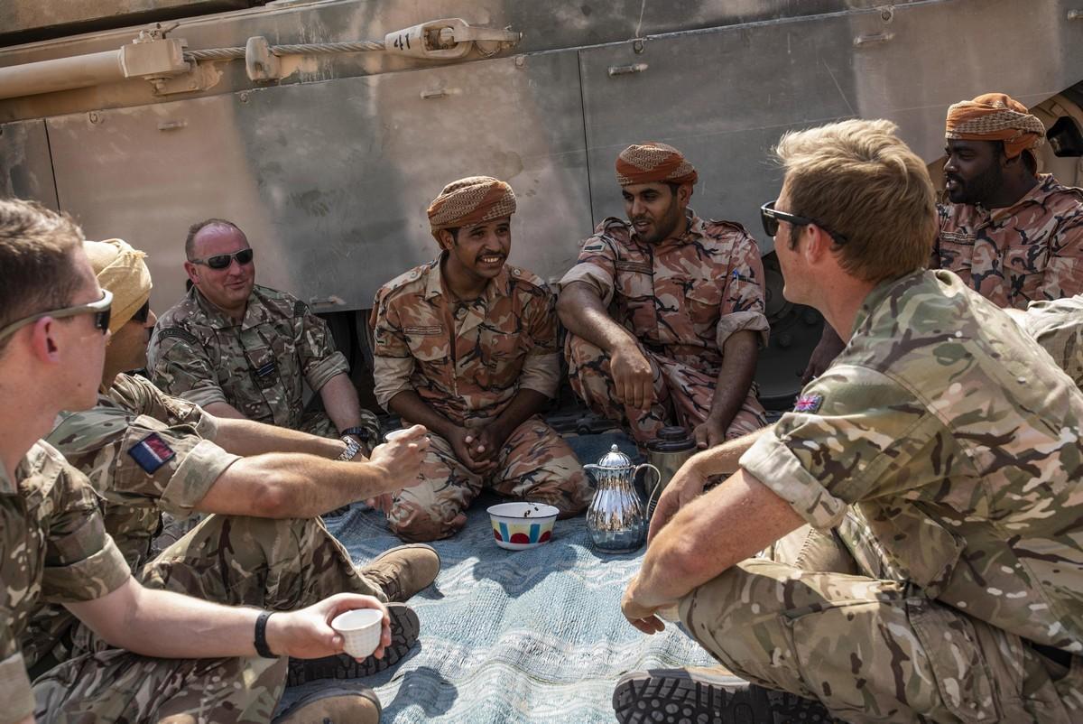 Британские солдаты в разных странах мира