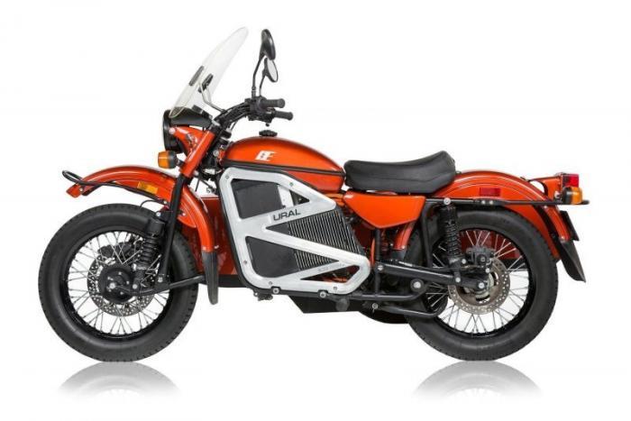 Электрическая версия мотоцикла Урал с коляской