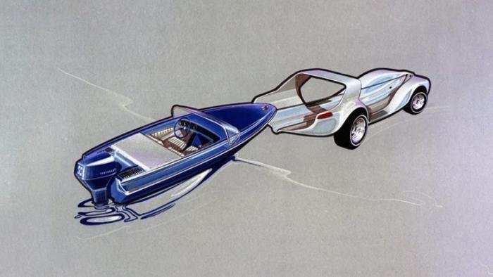 Evinrude Lakester: идеальная плавающая машина из Америки