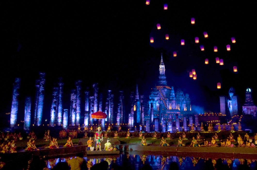 Фестиваль Лойкратхонг в Таиланде