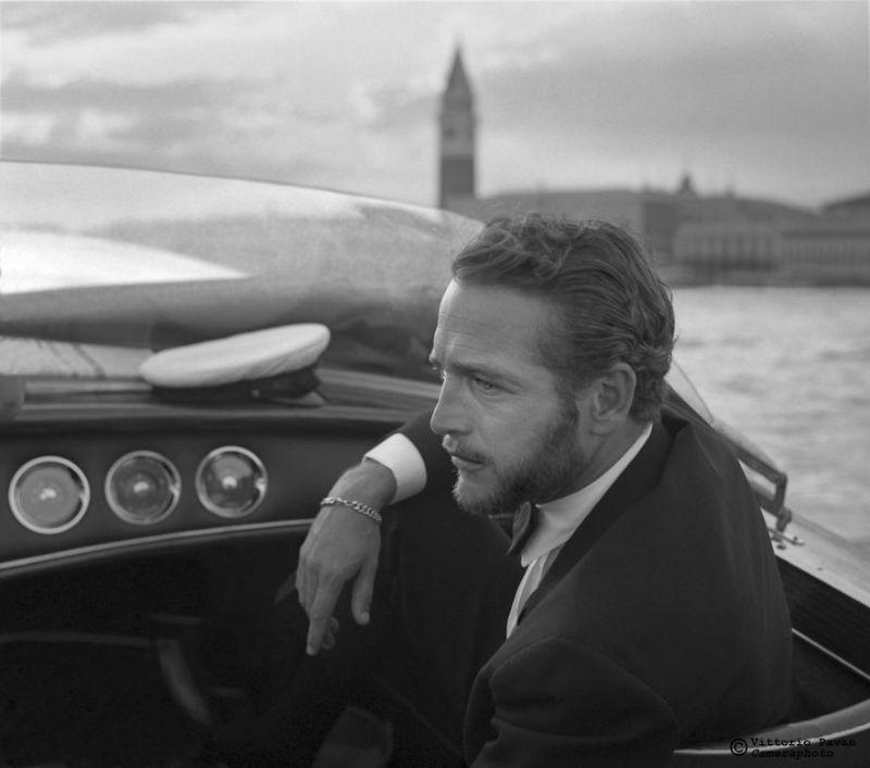 Интересные снимки знаменитостей в 50-60 годах в Венеции