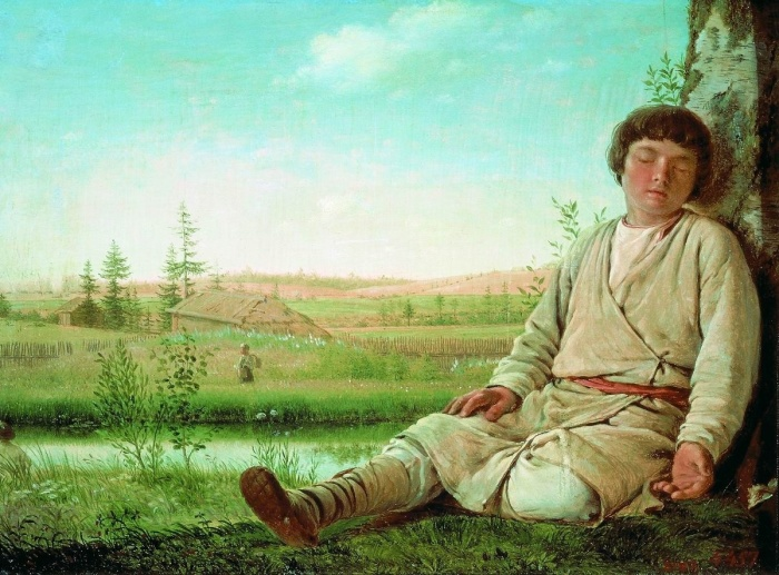 Как пастухам жилось на Руси