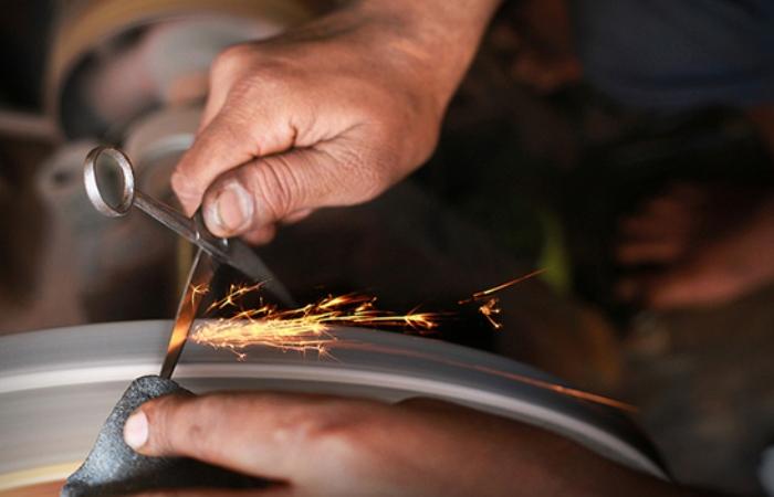 Как подточить ножницы в домашних условиях