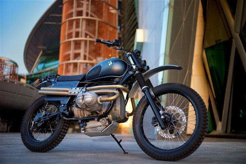 Модернизация мотоцикла BMW R80 для езды по пустыне