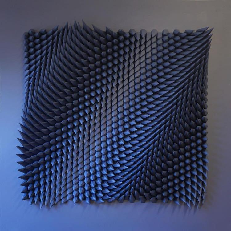 Невероятные трёхмерные мозаики из обычных листов бумаги1