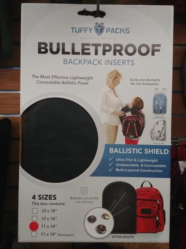 Пуленепробиваемый школьный рюкзак