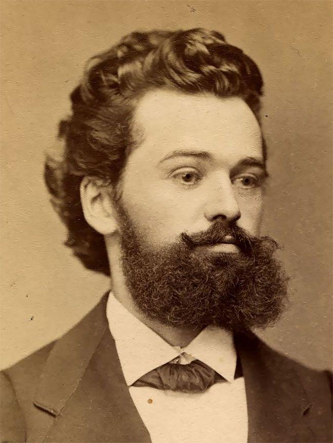 Ретро бороды мужиков XIX века