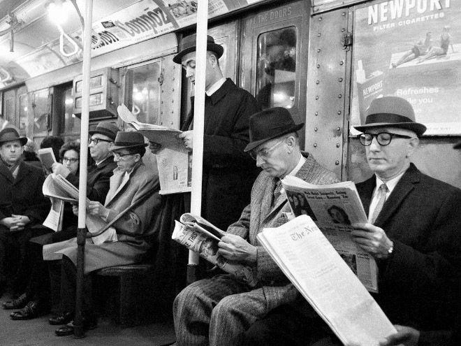 Старые добрые времена без смартфонов