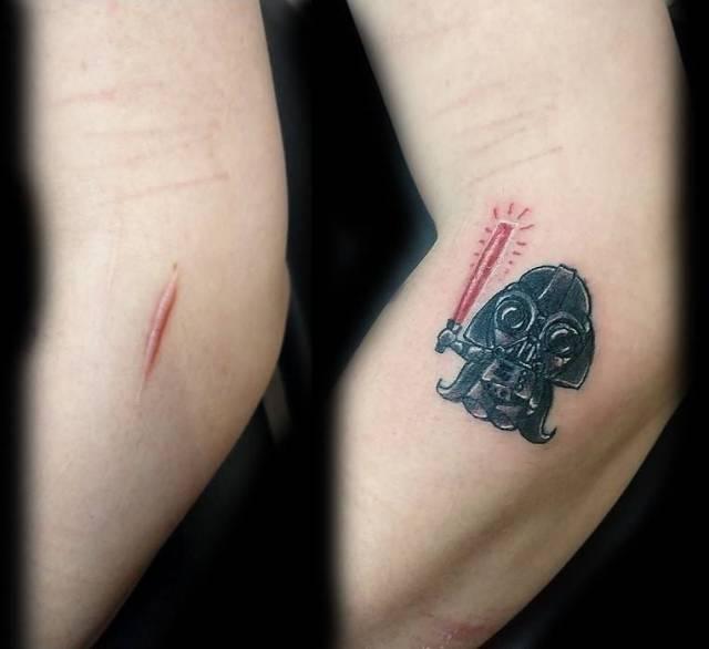 Татуировки, которые скрывают различные изъяны
