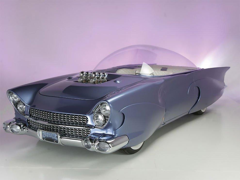 Удивительный Форд Beatnik Bubbletop 1955 года