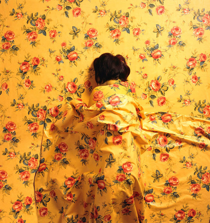 Яркий камуфляжный боди-арт от Сесилии Паредес