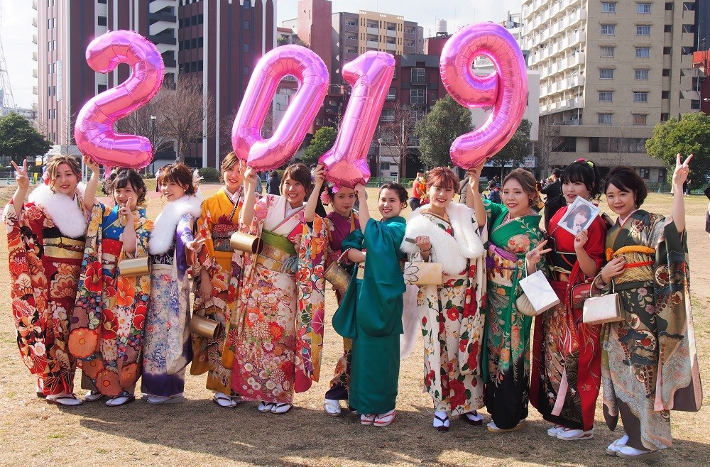 День совершеннолетия 2019 в Японии