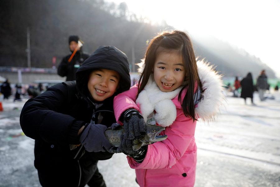 Фестиваль льда в Южной Корее 2019