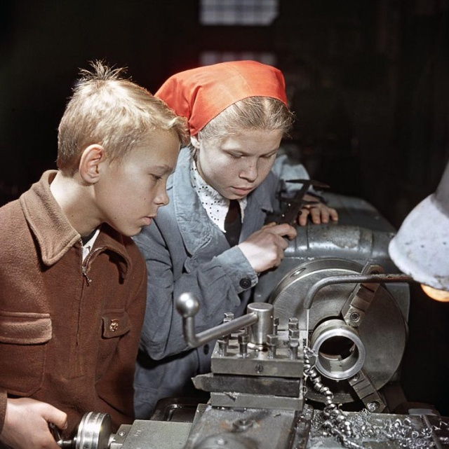 Интересные архивные фотографии советской жизни