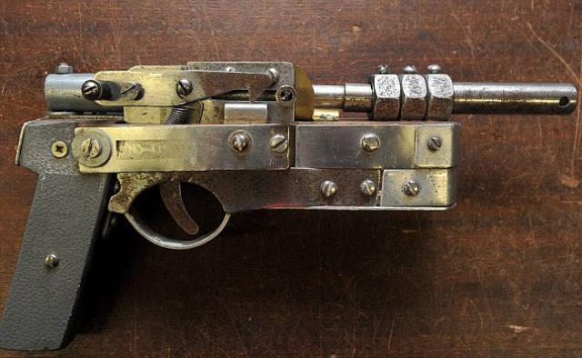 Конфискованное самодельное оружие из подручных средств