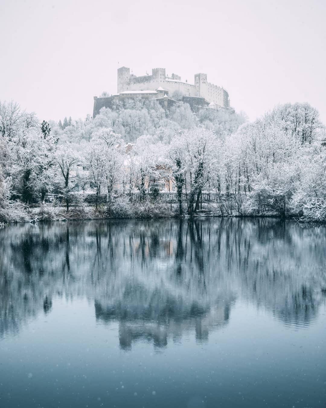 Красота зимней Австрии на снимках Себастьяна Шейхла