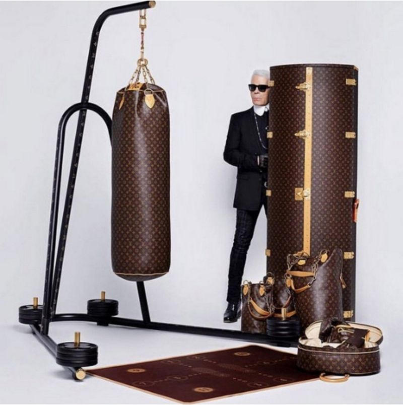 Louis Vuitton и Karl Lagerfeld представили модный комплект для занятий спортом