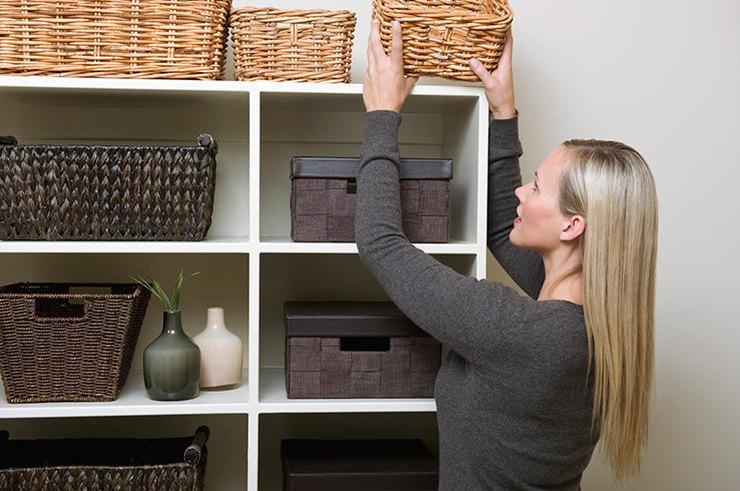 Организации пространства поможет достичь порядка в доме