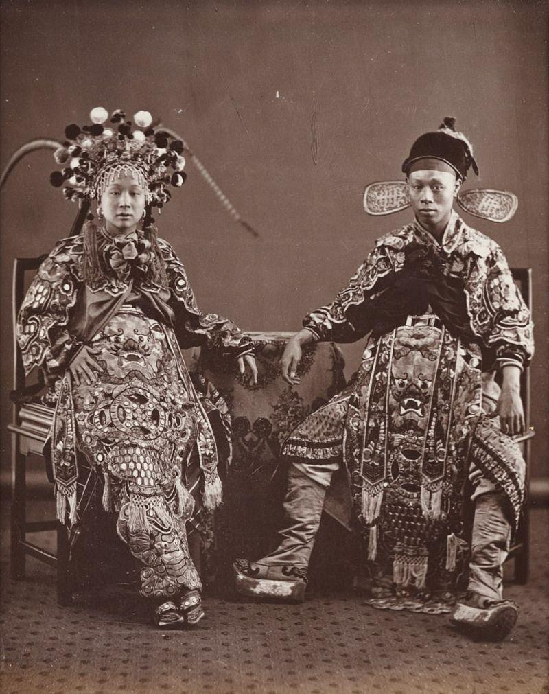 Редкие снимки Китая с 1850-х по 1930-е годы