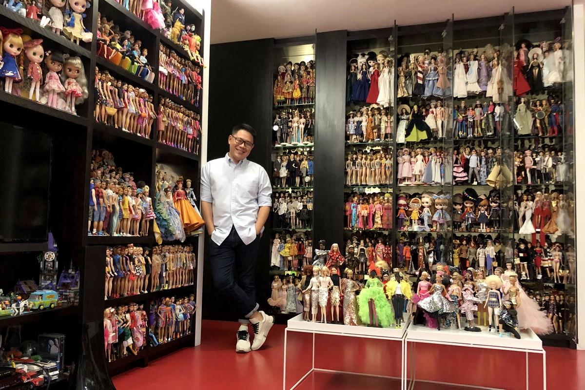 Сингапурец собрал коллекцию из 12 000 Барби