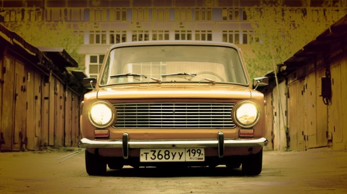 Тюнинг автомобиля в советское время
