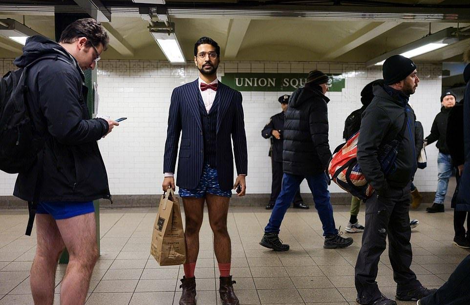 В метро без штанов — 2019