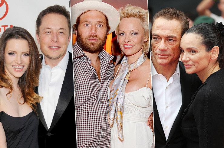 Знаменитости, которые женились на одном человеке по два раза