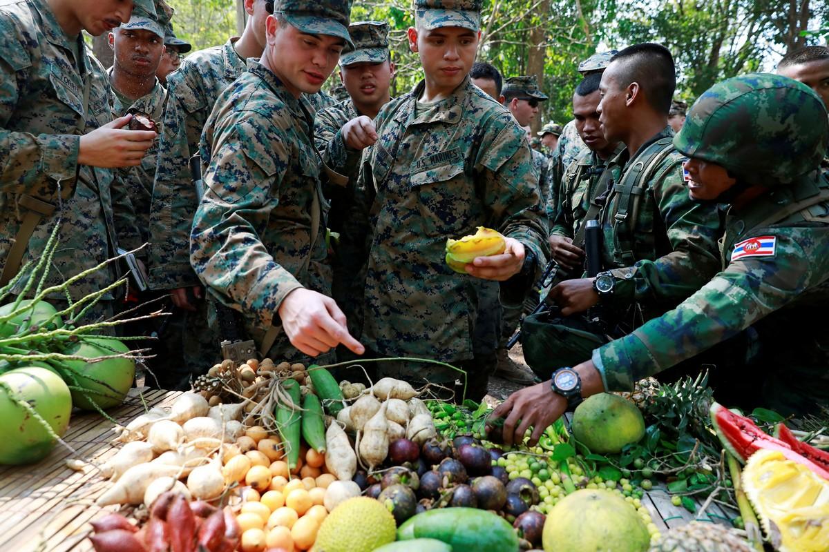 Морские пехотинцы США на учениях «Cobra Gold»