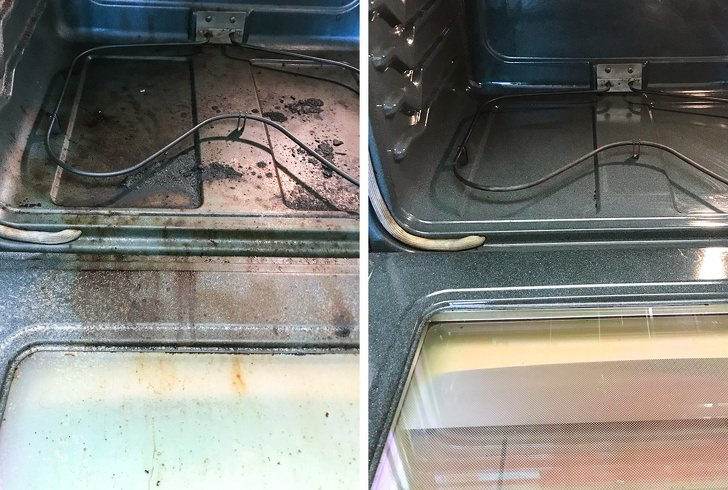 Приятные снимки наведения чистоты: до и после