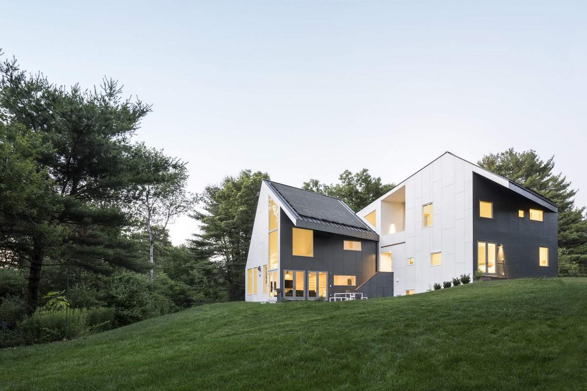 Солнечный дом в США