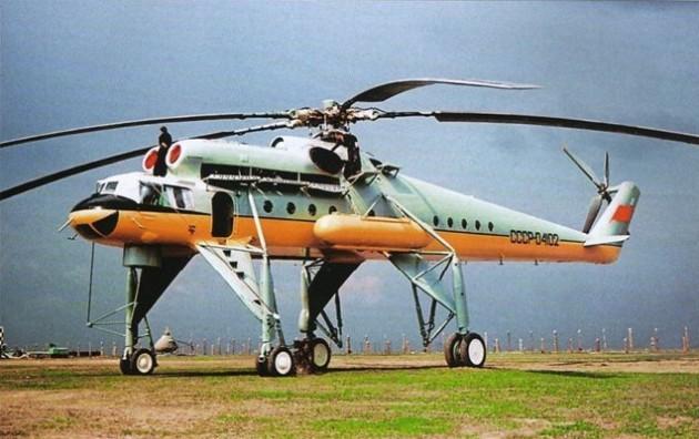 Транспортный вертолет Ми-10 — военный летающий кран