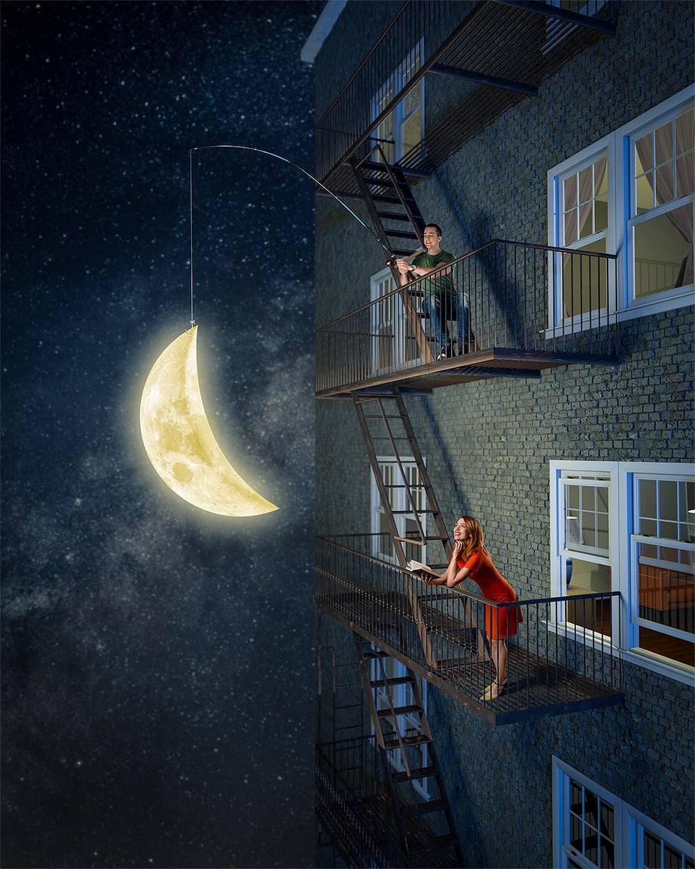 Удивительные сказочные фотоколлажи от Неманья Секулича