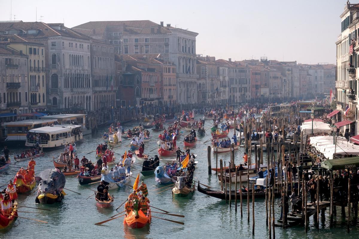 Венецианский карнавал 2019 в Италии