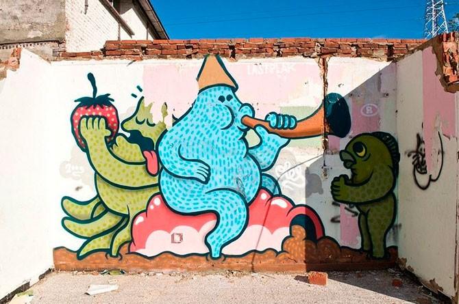 Заброшенная деревня Дул и удивительное искусство