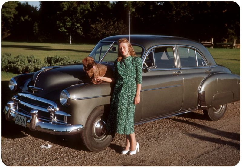 Американцы и их стильные автомобили в 50-е годы