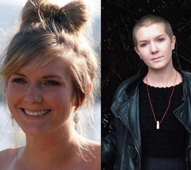 Девушки, которые стали феминистками: до и после