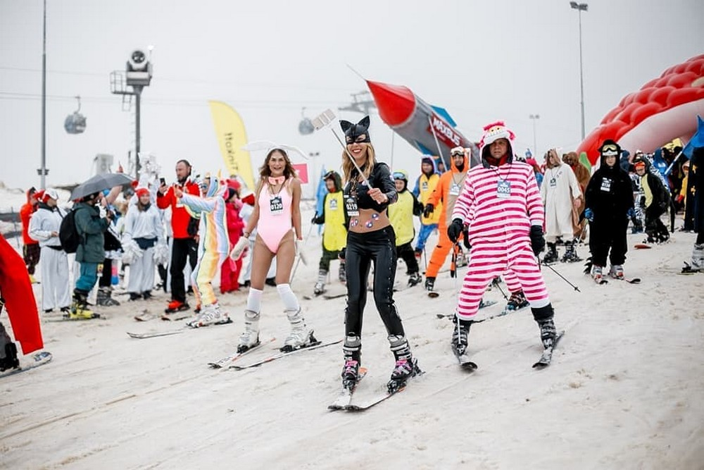 Фестиваль лыжников и сноубордистов BoogelWoogel в Сочи