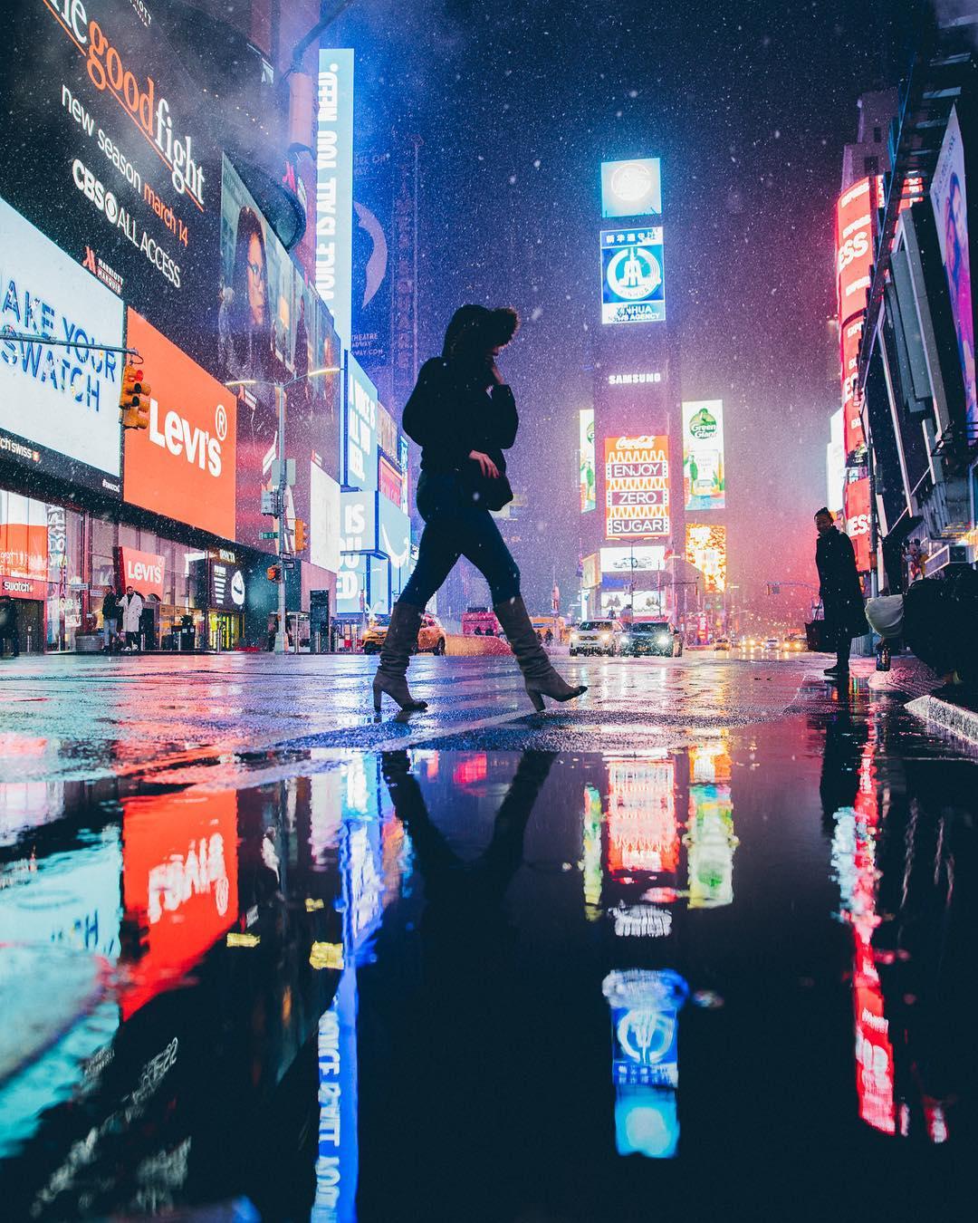 Нью-Йорк в объективе Майка Шпота
