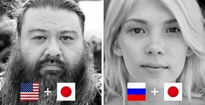 Представители хафу — люди с полу-японским происхождением
