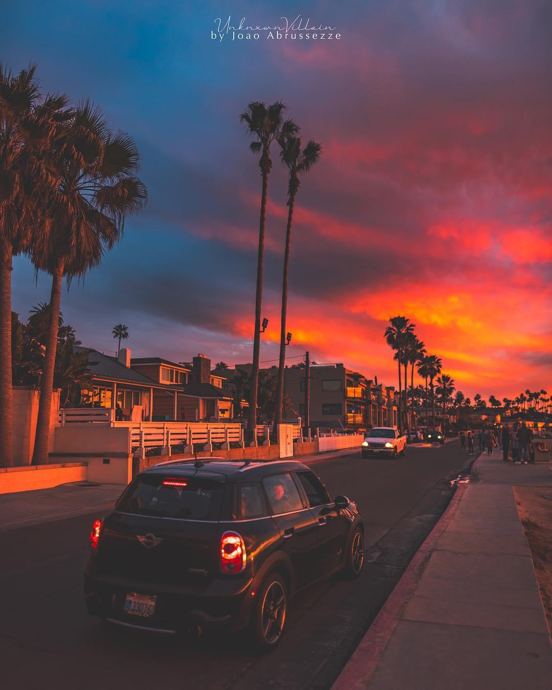 Природные и городские пейзажи Сан-Диего на снимках Жоао Абрюссезе