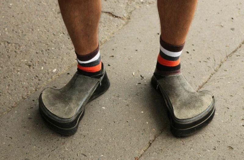 Смешные и просто сногсшибательные образцы обуви